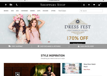Shoppers Stop Promo Codes | Coupons | Offers