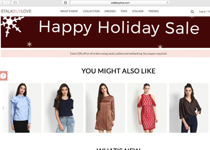 StalkBuyLove Promo Codes | Coupons | Offers