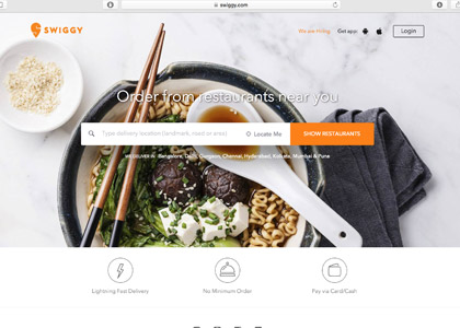 Swiggy Promo Codes | Coupons | Offers