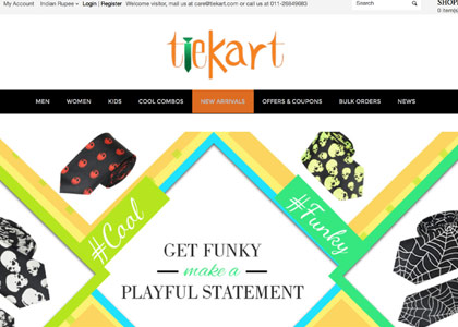 TieKart Promo Codes | Coupons | Offers