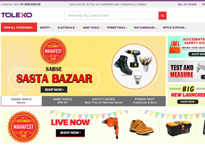 Tolexo Promo Codes | Coupons | Offers