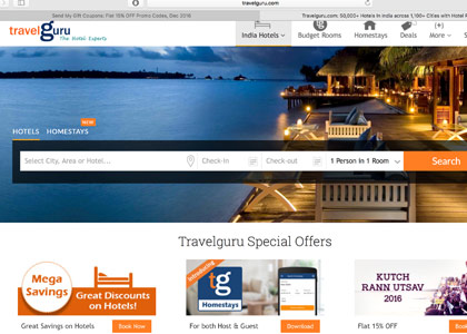 Travelguru Promo Codes | Coupons | Offers