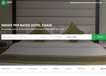 Treebo Hotels Promo Codes | Coupons | Offers