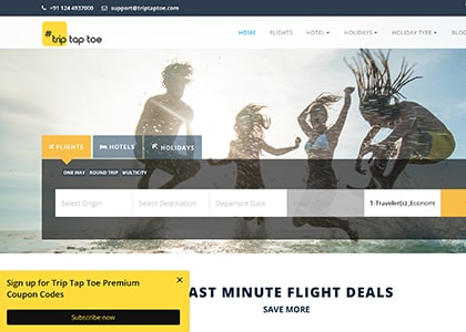 TripTapToe Promo Codes   Coupons   Offers