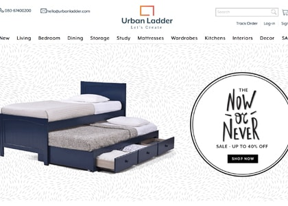Urban Ladder Promo Codes | Coupons | Offers