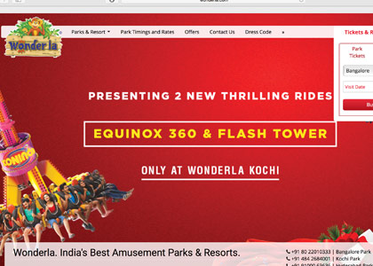 Wonderla Promo Codes | Coupons | Offers