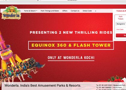 Wonderla Promo Codes   Coupons   Offers