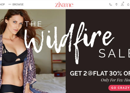 Zivame Promo Codes | Coupons | Offers