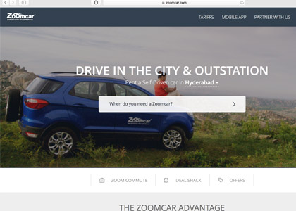 Zoomcar Promo Codes | Coupons | Offers