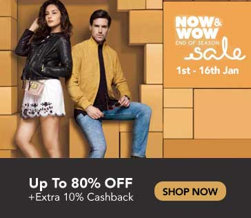 Tata CLiQ Now & Wow Sale
