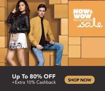 Tata CLiQ Now & Wow Sale