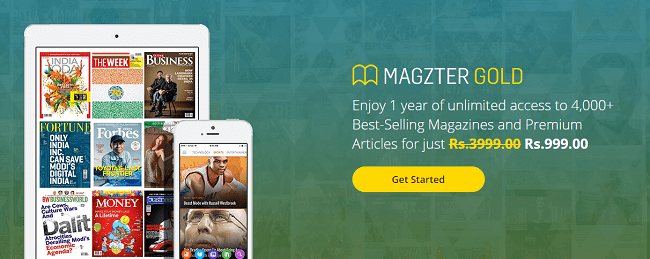 Magzter Subscription Offers